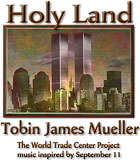 Holy Land CD - by Tobin James Mueller